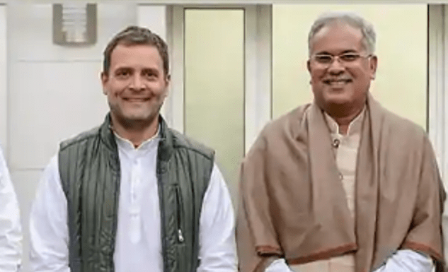 Bhupesh Baghel's government has arrested a man over a social media video