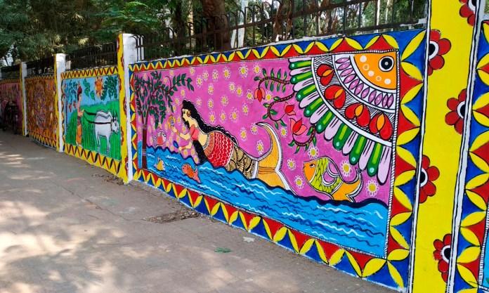 Patna roads paintings