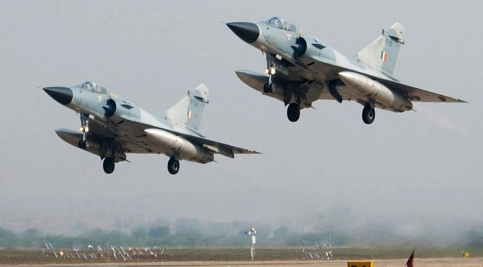 IAF jets intercepted the Georgian plane deviated from its path