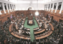 Delhi assembly marshals out three BJP MLAs