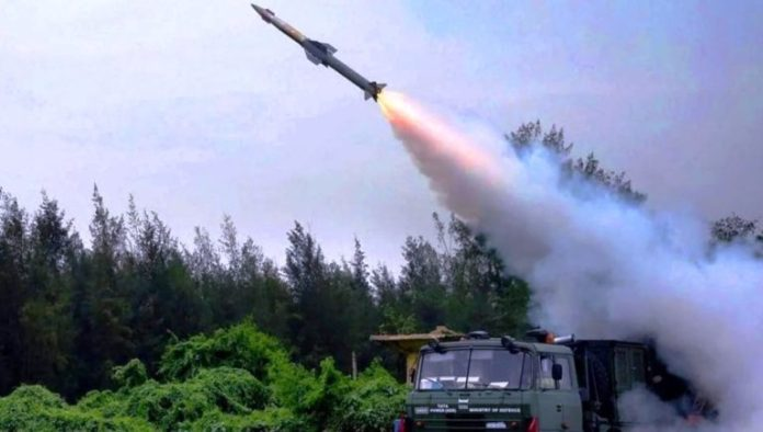 QRSAM was test fired from Chandipur in Odisha