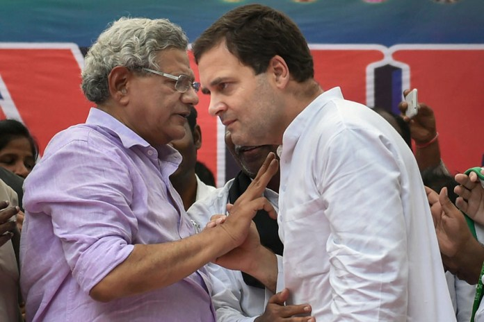 Yechury gets court nod to travel to Srinagar, asked not to do any politics over it
