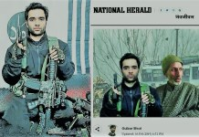 Congress mouthpiece National Herald whitewashes Pulwama terrorist Adil Ahmed Dar