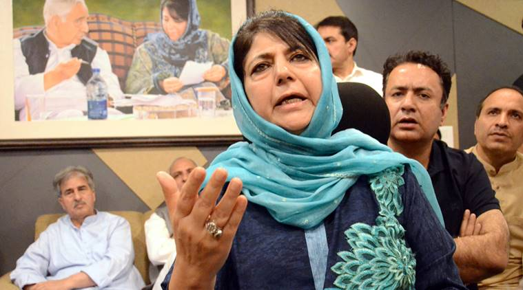 Mehbooba Mufti blames Team India's orange jersey for the loss against England - Opindia News