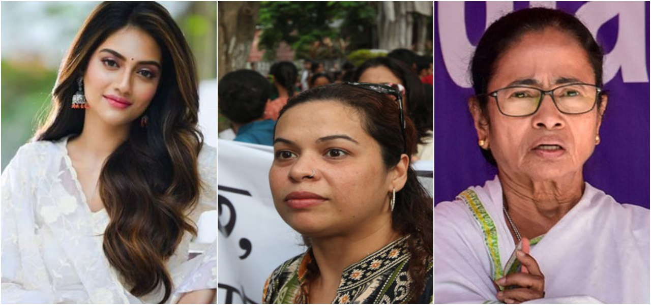 TMC's candidate Nusrat Jahan, Mamata Banerjee and their connection with the infamous Park Street rape case - Opindia News