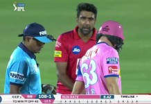 R Ashwin's controversial run out of Jos Butler