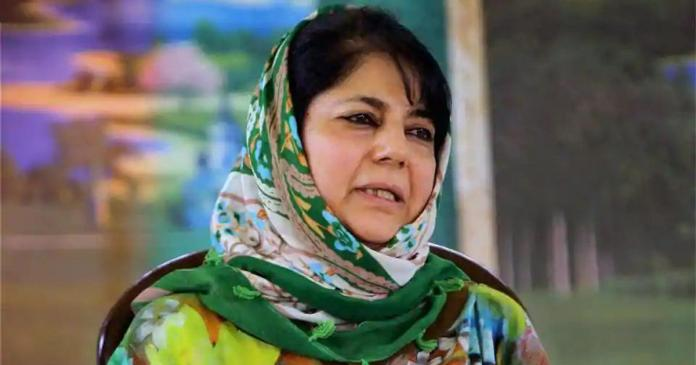 Mehbooba Mufti rationalises Pulwama terrorist's act