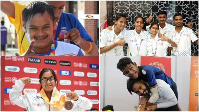 India bagged a whooping 368 medals at the special olympics in Abu Dhabi