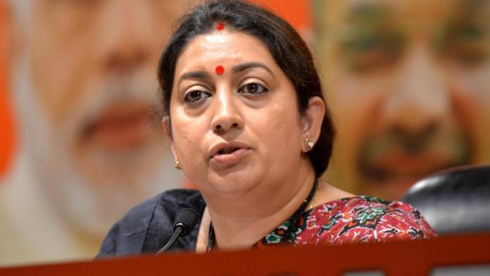 Smriti Irani to stay in amethi before the elections