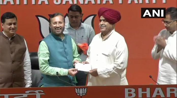 Gurjar leader KS Bainsla joins BJP