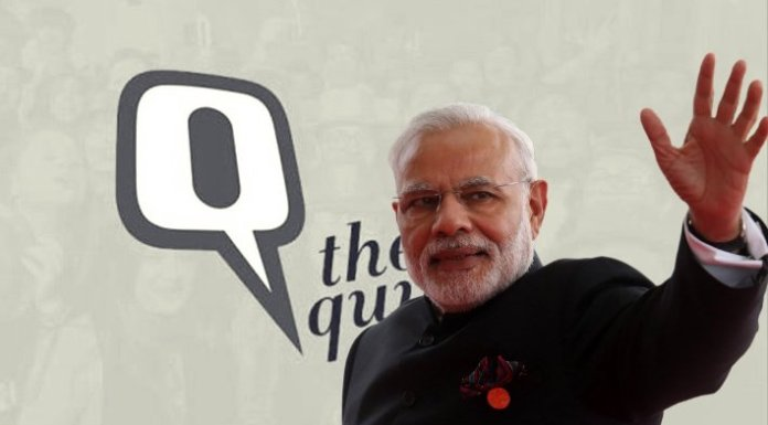 The Quint lies, twists and tortures CVoter data to make it say that the Modi wave is over. Here is what the data actually says