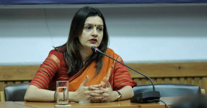 Priyanka Chaturvedi likely to be Shiv Sena's Rajya Sabha candidate