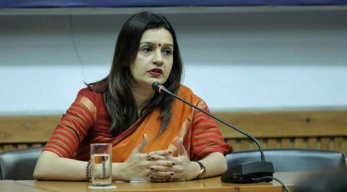 Priyanka Chaturvedi expresses her disapproval on being unfairly treated by the Congress party