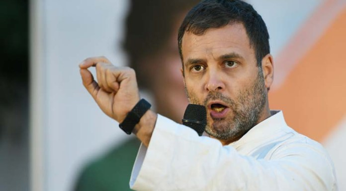 Rahul Gandhi avoided questions on Agusta scam and Ahmed Patel