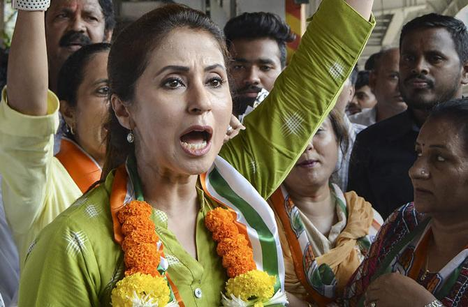 Urmila Matondkar had reportedly written a letter to MRCC chief Milind Deora condemning the conduct of two of Sanjay Nirupam's aides