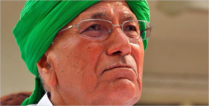 ED attaches properties of former Haryana CM Om Prakash Chautala