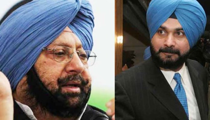 Political bickering ensues in Congress after Navjot Sidhu Kaur alleges Capt Amrinder Singh of denying her Lok Sabha ticket