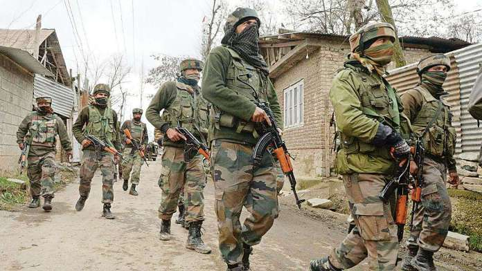 grenade hurled at CRPF camp in Kashmir by terrorists