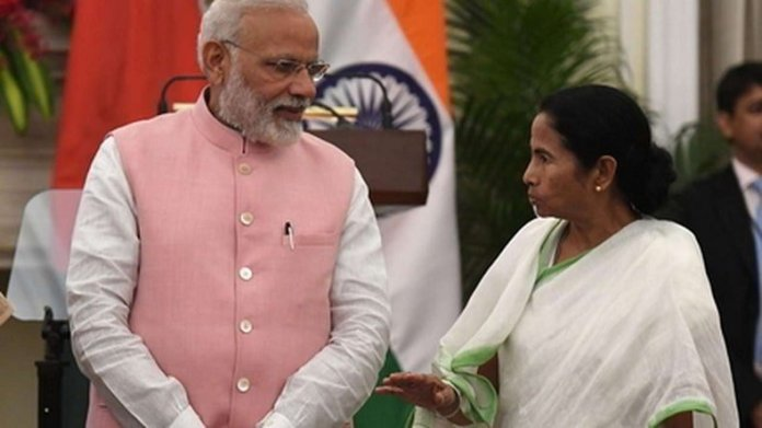 PM Modi slammed Mayawati for not defending the people of UP and Bihar against TMC government's accusations