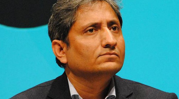 Ravish Kumar has a mental breakdown as BJP set to form a government at centre, according to exit polls