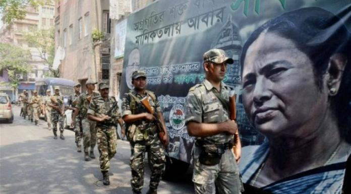 Post-poll violence has been reported in West Bengal
