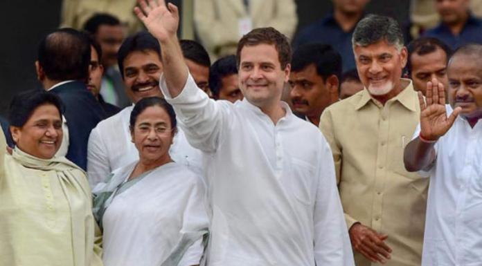 Chandrababu Naidu is visiting Mahagathbandhan leaders to cobble up an anti-BJP front