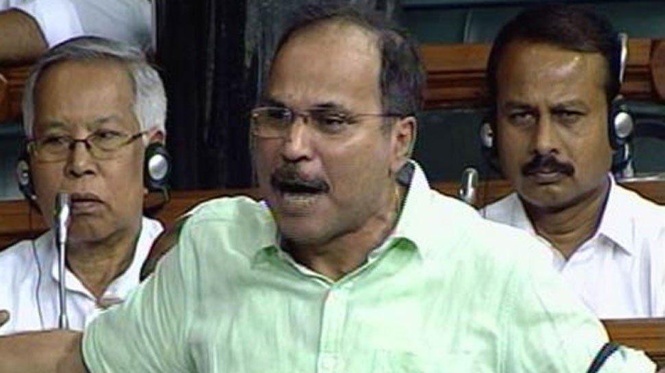 Congress MP Adhir Ranjan Chowdhury passes repulsive remarks against PM Modi, likens him to 'gandi naali' in Lok Sabha - Opindia News
