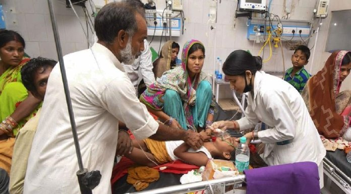 Hospital superintendent had recently requested politicians no not visit the hospital where they are not needed at all, instead, he had asked them to visit villages and help spread awareness