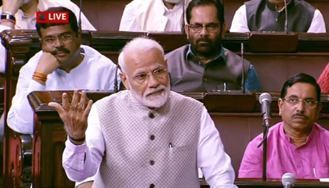 Violence in Jharkhand, Bengal and Kerala should be dealt with equally: PM Modi in Rajya Sabha - Opindia News