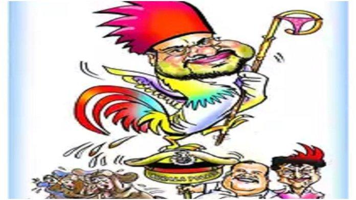 Kerala Lalit Kala Academy had given award to cartoonist KK Subhash for his cartoon depicting Bishop Franco Mulakkal as a cockerel