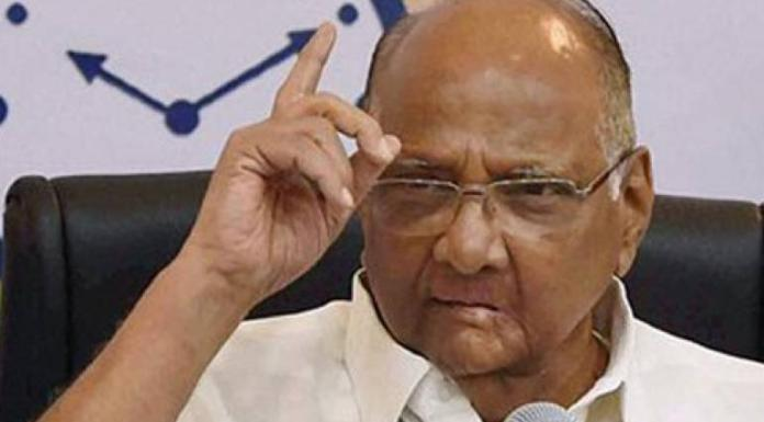 Sharad pawar invents a new excuse to shift the blame of the defeat in the Lok Sabha polls