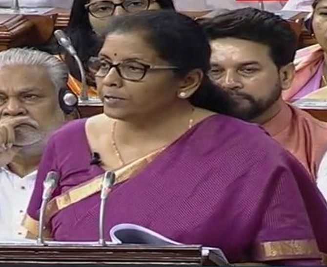 N Sitharaman announced that Startups can do away with Angel Tax with requisite declaration