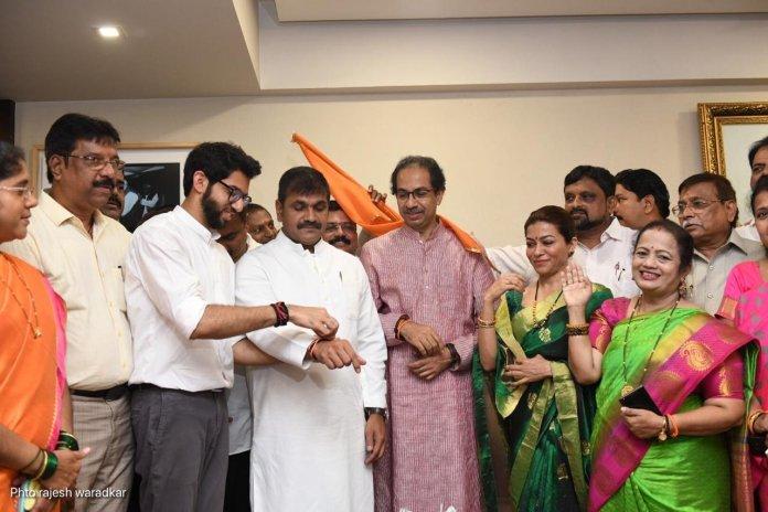 Senior NCP leader Sachin Ahir joins Shiv Sena