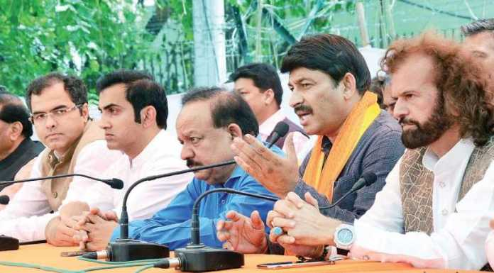 Delhi BJP accuses AAP of massive corruption scam in classroom construction