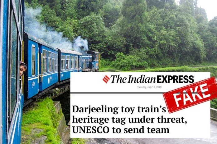 UNESCO slams Indian Express story on heritage tag of Darjeeling toy train being 'under threat', calls it misleading