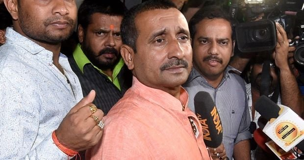 BJP suspends Unnao rape accused