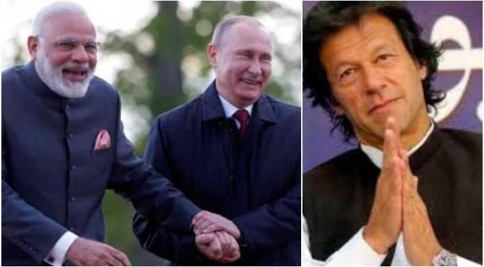 Vladimir Putin had invited PM Modi to the EEF even before the general elections, Pakistan claimed that Imran Khan was invited too. Russia has clarified that Pakistan has not been invited