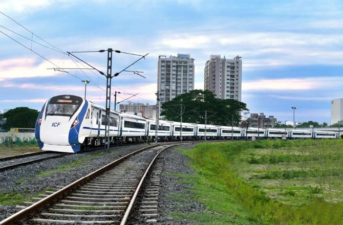Railway sources deny reports that production of Vande Bharat Express has  stopped