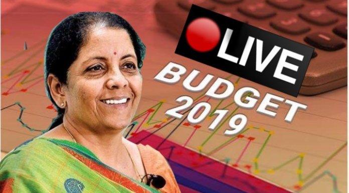 Budget 2019 updates: LIVE