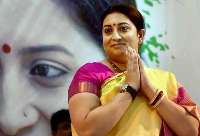 Congress IT cell and office-bearers launch a sexist attack against Smriti Irani over her picture with Hukumdev Narayan Yadav