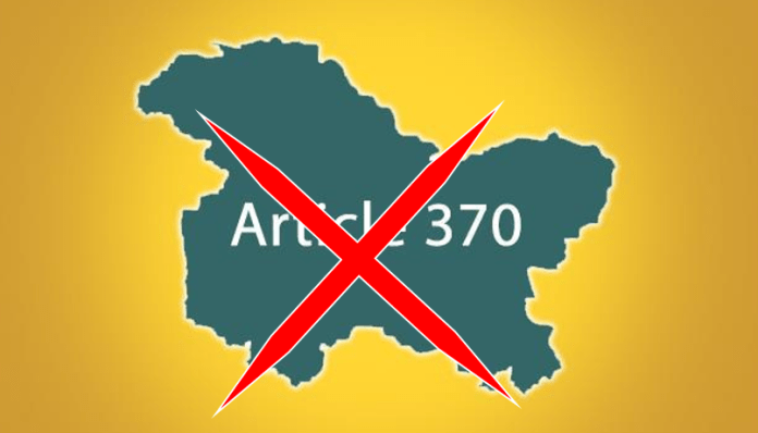 Article 370 scrapped as the parliament clears J&K Reorganisation Bill