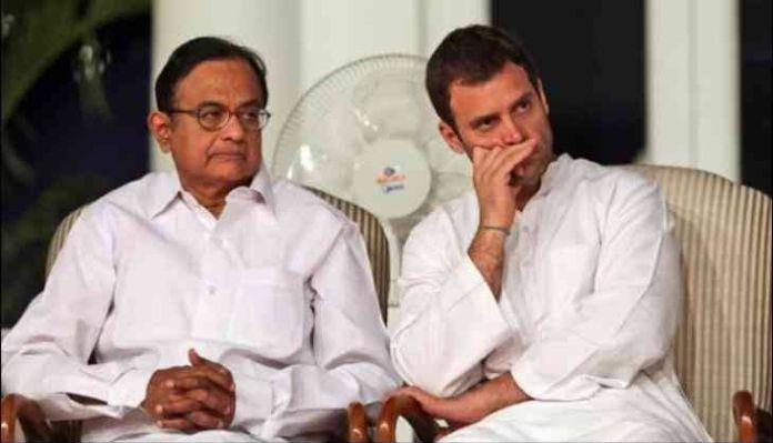 Rahul Gandhi takes up the cudgel for beleaguered P Chidambaram