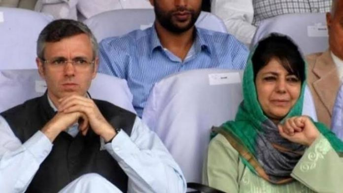 Sedition case filed against Omar Abdullah and Mehbooba Mufti