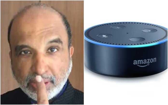 Sanjay Jha tried to make an 'Alexa' joke over the FM post, got flooded by Robotic PM responses