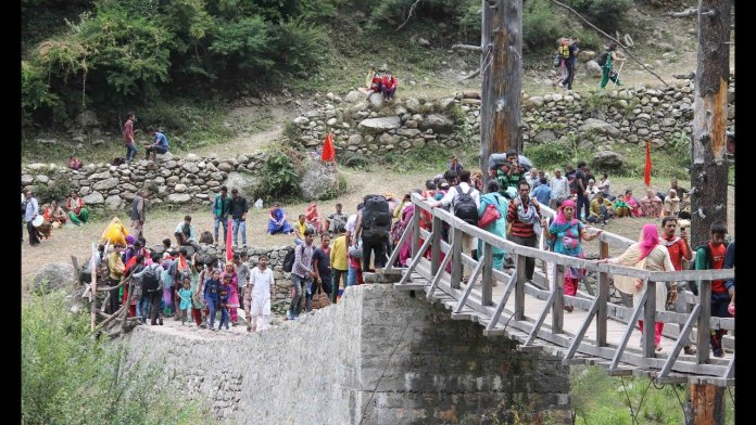 The district administration has ordered the cancellation of Machail Yatra in Kishtwar