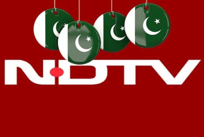 NDTV gets endorsement from Pakistan's ruling party. PTI shares their clip to further anti-India narrative