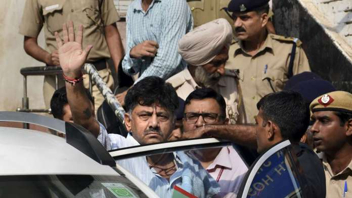 ED objects to Shivakumar's bail plea, court reserves order