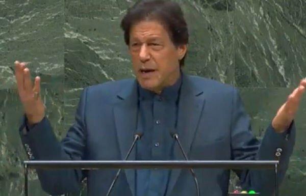 Imran Khan goofs up in his UNGA speech