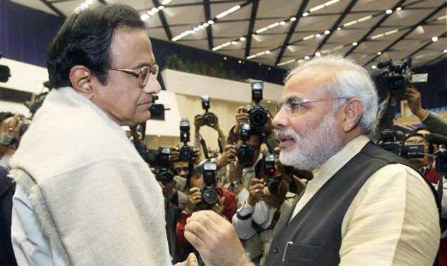Image result for Why is PM Modi Chidambaram