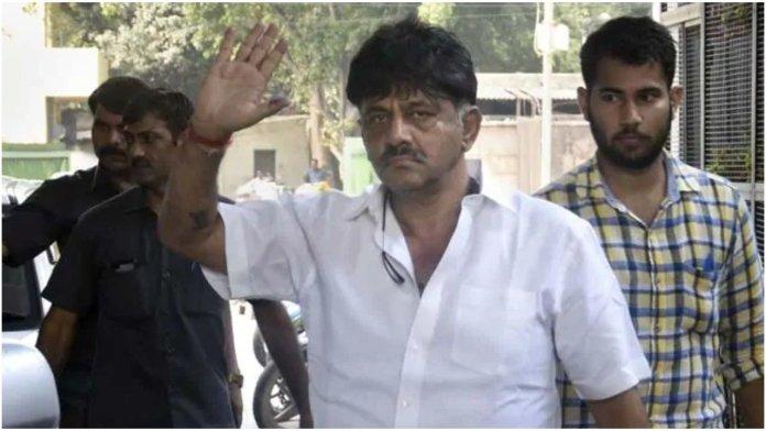 DK Shivakumar sent to Tihar jail